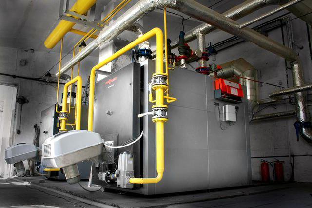 основное оборудование газовой котельной