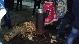 Перекрыли дороги, установили палатки: на Донбассе бастуют горняки 4 шахт