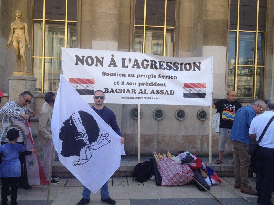 митинг в париже 2