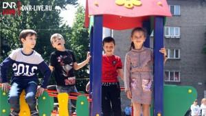 детская площадка в макеевке 13