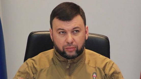 Заявление Дениса Пушилина по поводу обстрела Старомихайловки и гибели военнослужащих ДНР